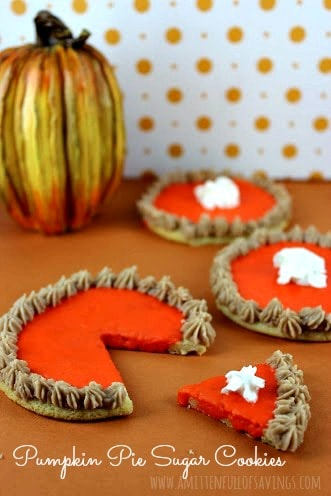 Recipe: Pumpkin Pie Sugar Cookies