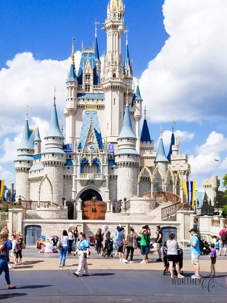 Visiting Magic Kingdom- Cinderella Castle