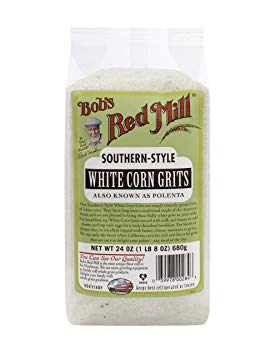Bob's Red Mill White Corn Grits/Polenta, 24 Ounce, Pack of 1