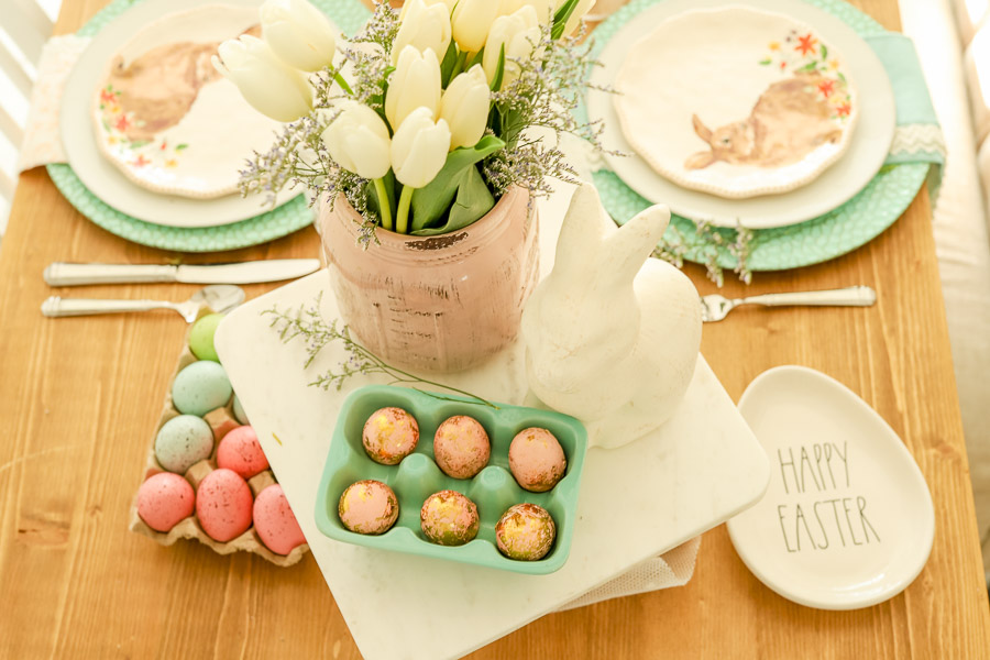 Pastel Easter Tablescape Idea | Create An Easter Dessert In Minutes