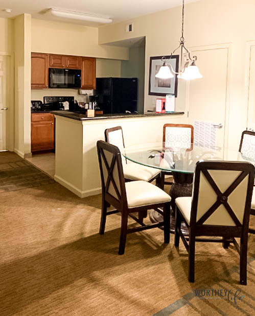 Spacious Family Suites - great for teens at Lake Buena Vista Resort Village and Spa