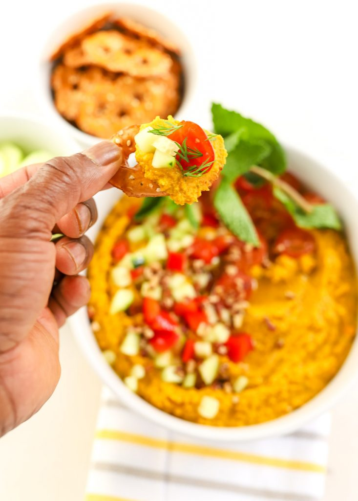 How to make Spicy Carrot + Chickpea Dip