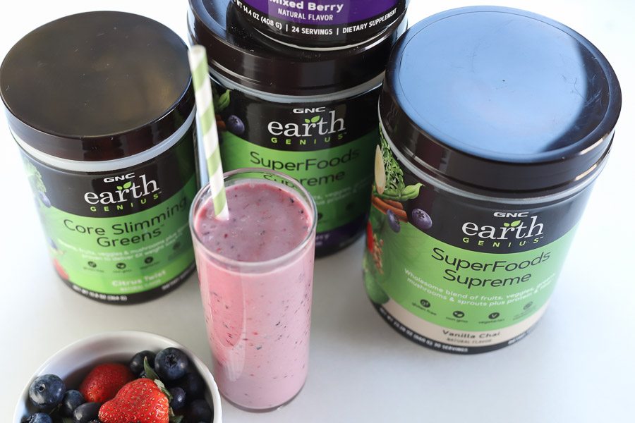 The Top Berry Smoothies