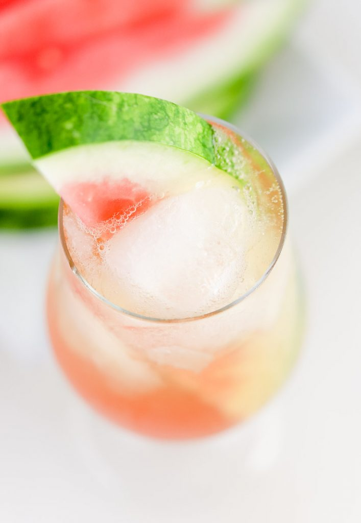 How to make a Watermelon Bourbon Tonic