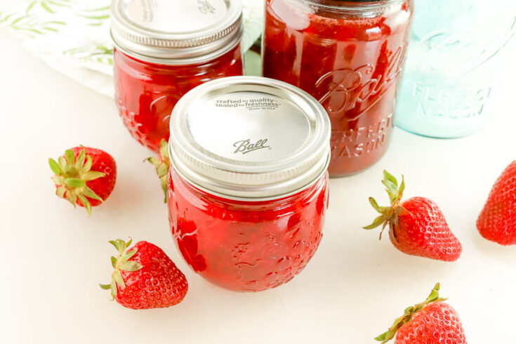 The Best Ever Strawberry Jam