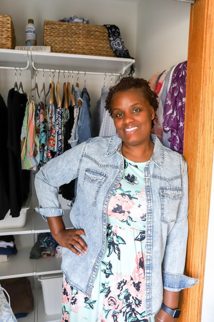 Tips on purging your small closet