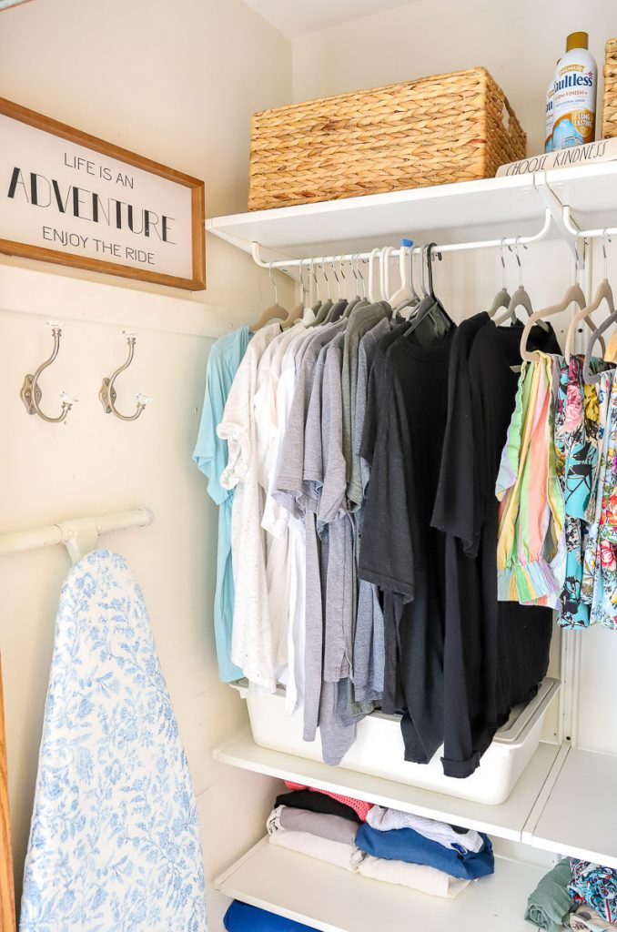 Tips on purging your closet