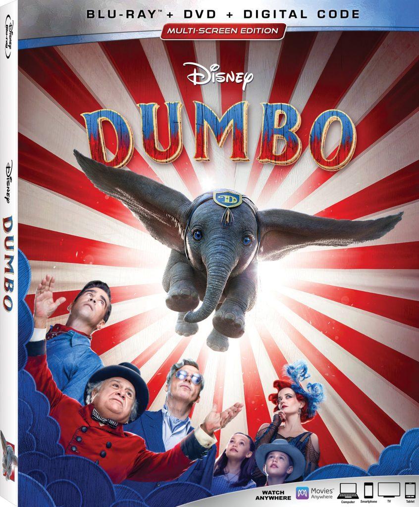 Dumbo DVD release