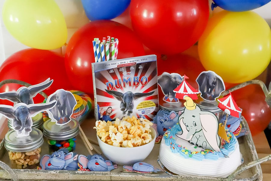 Dumbo movie party ideas
