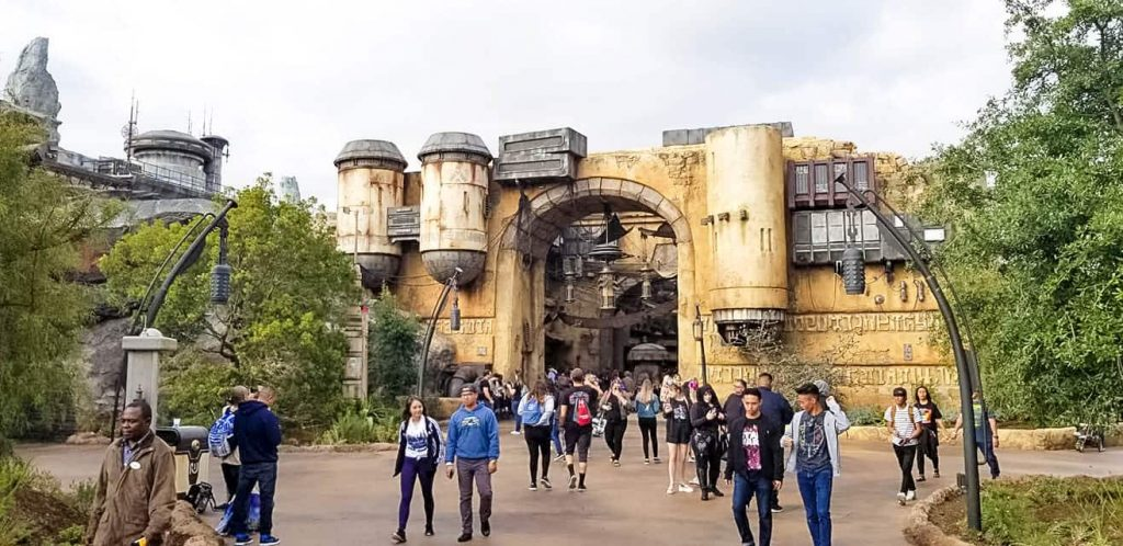 Admission into Star Wars Galaxy's Edge