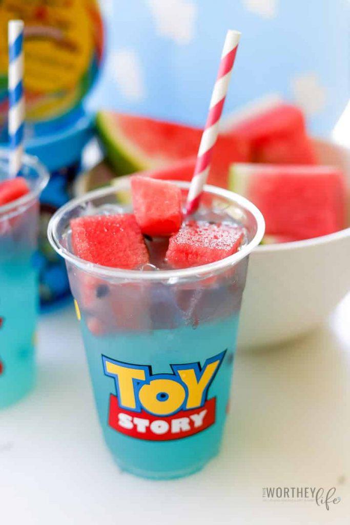 Toy Story Drink For Kids | Blue Bo Lemonade