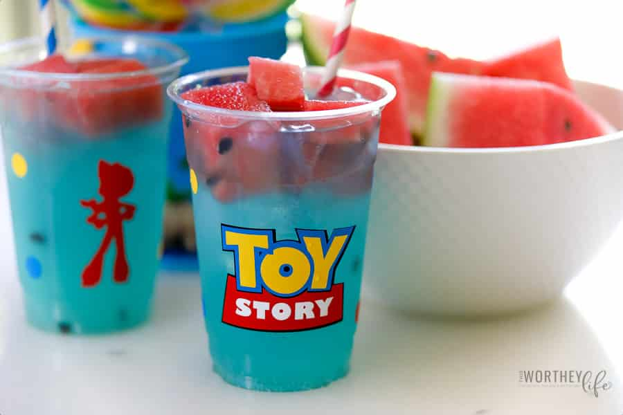 Toy Story Drink For Kids | Blue Bo Lemonade