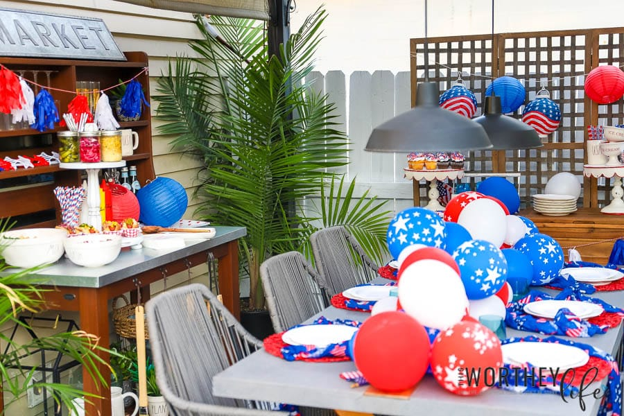 What to serve for a Fourth Of July Party