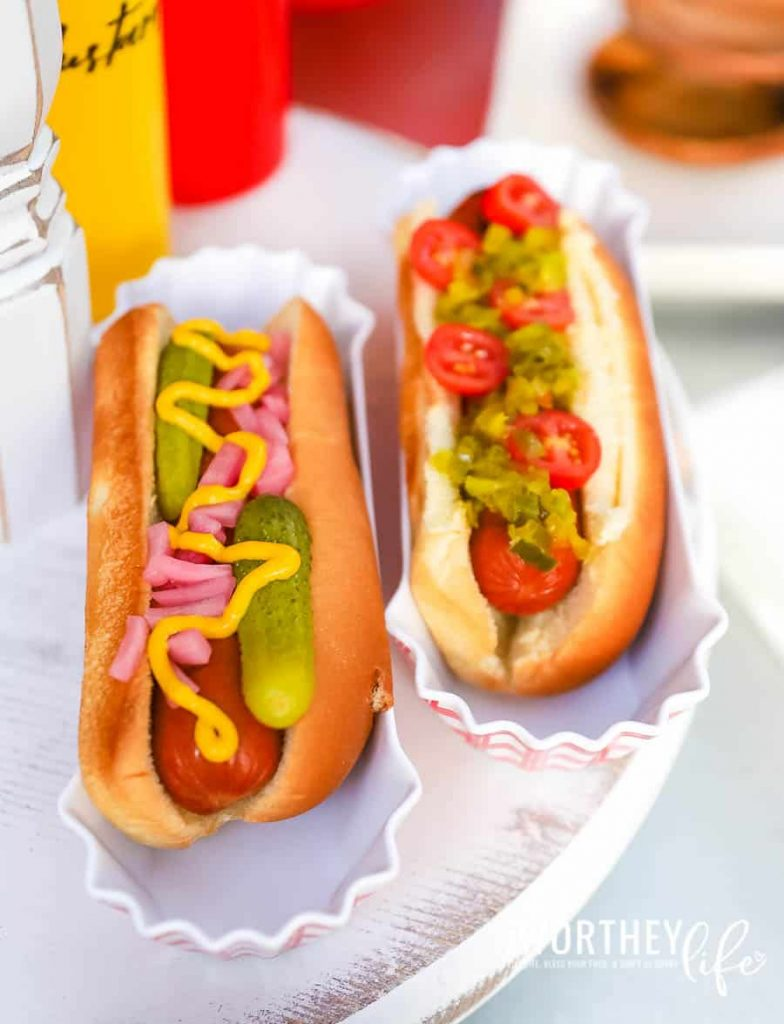 Condiment Recipes for Hot Dogs