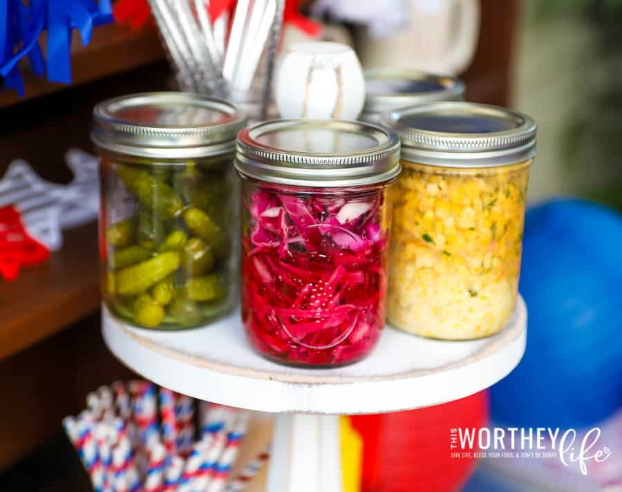 How to Create a Hot Dog Condiment Bar