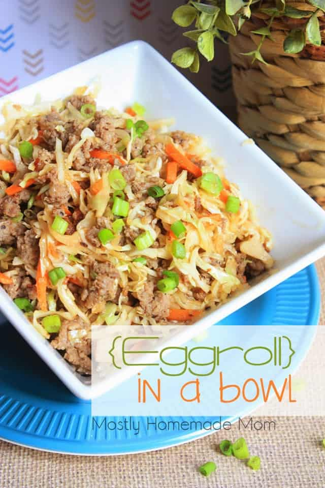 Eggroll In A Bowl - VIDEO