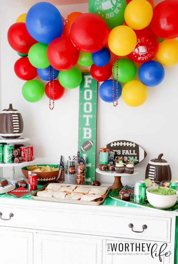 Football Party Decor Ideas