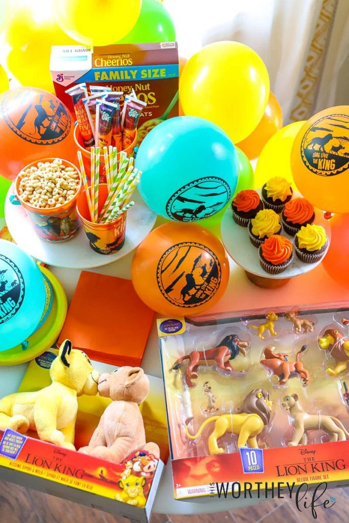 Host a fun Lion King Party