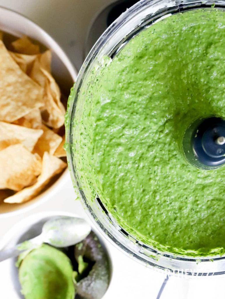 Game Day Dip Recipe: Spinach + Avocado Dip