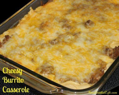 Cheesy Burrito Casserole