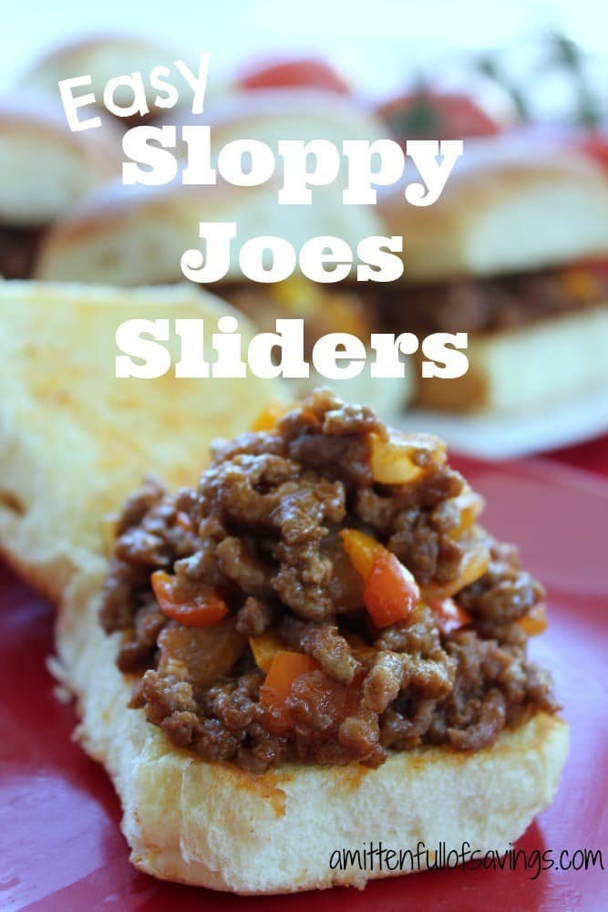How To Make Sloppy Joes Sliders - Fresh Outta Time