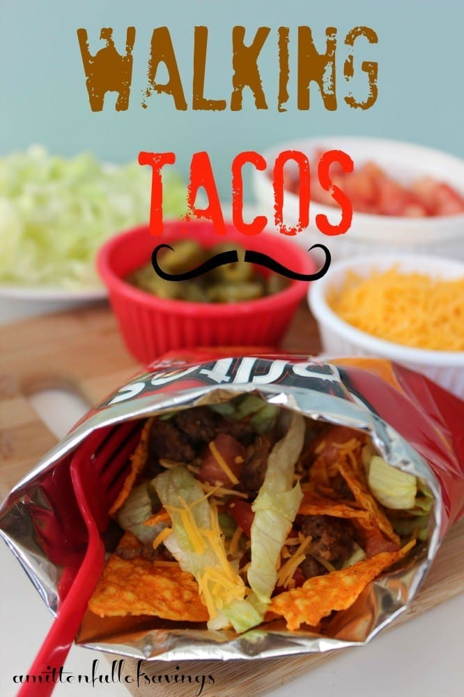 Easy Recipe for Walking Tacos - Fresh Outta Time