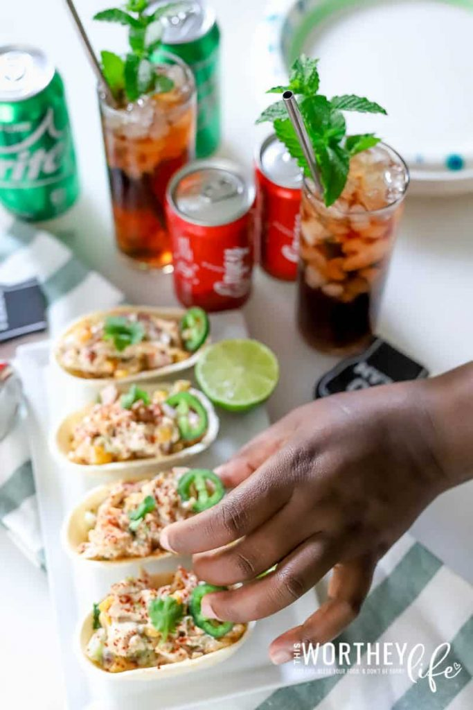 Appetizer + Mocktail Pairing for Game Day