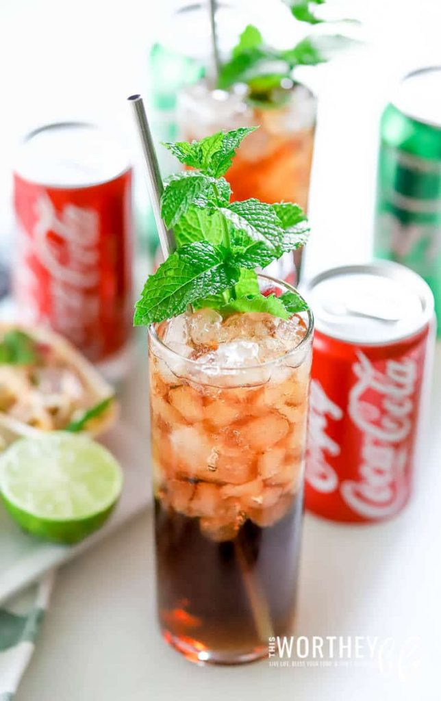 Non-alcoholic drink recipes ideas for game day party