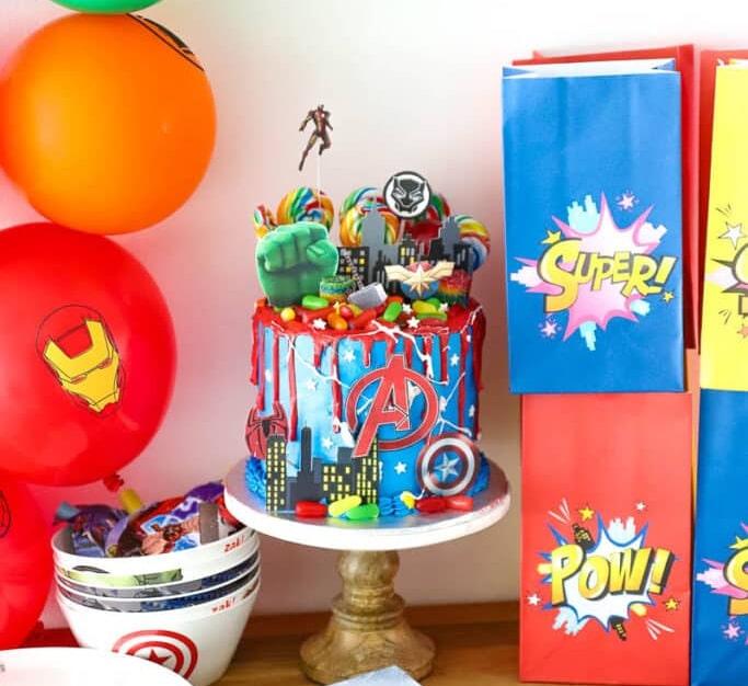 Marvel Avengers Party Idea