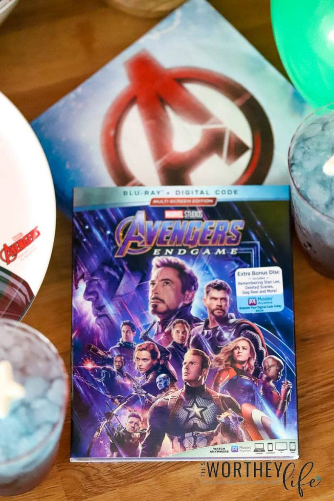 Avengers Endgame now available on DVD