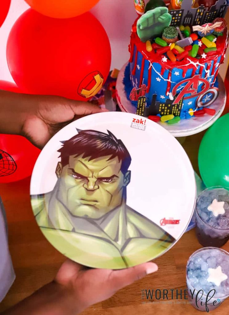Avengers Dinnerware