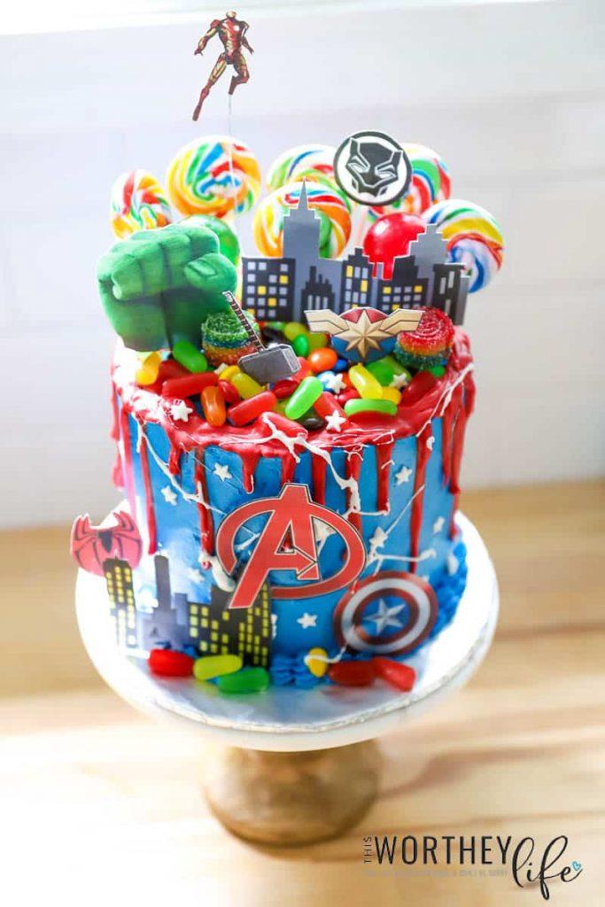 Avengers Cake Idea