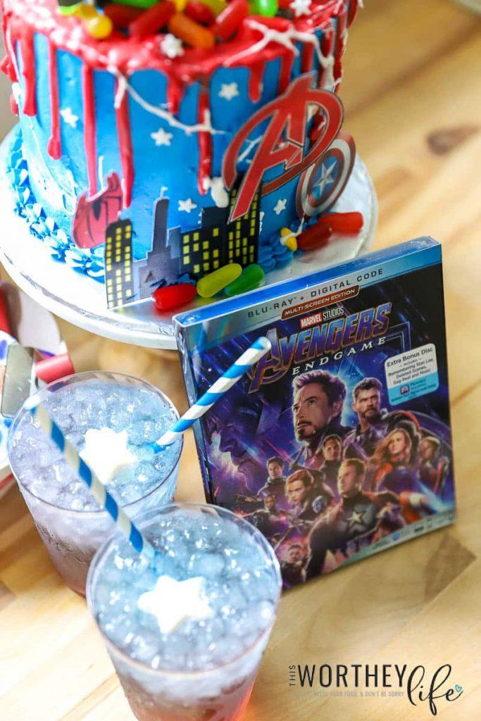 Avengers Party Idea