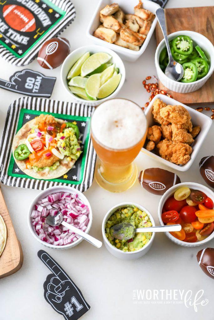 Create a Taco Bar
