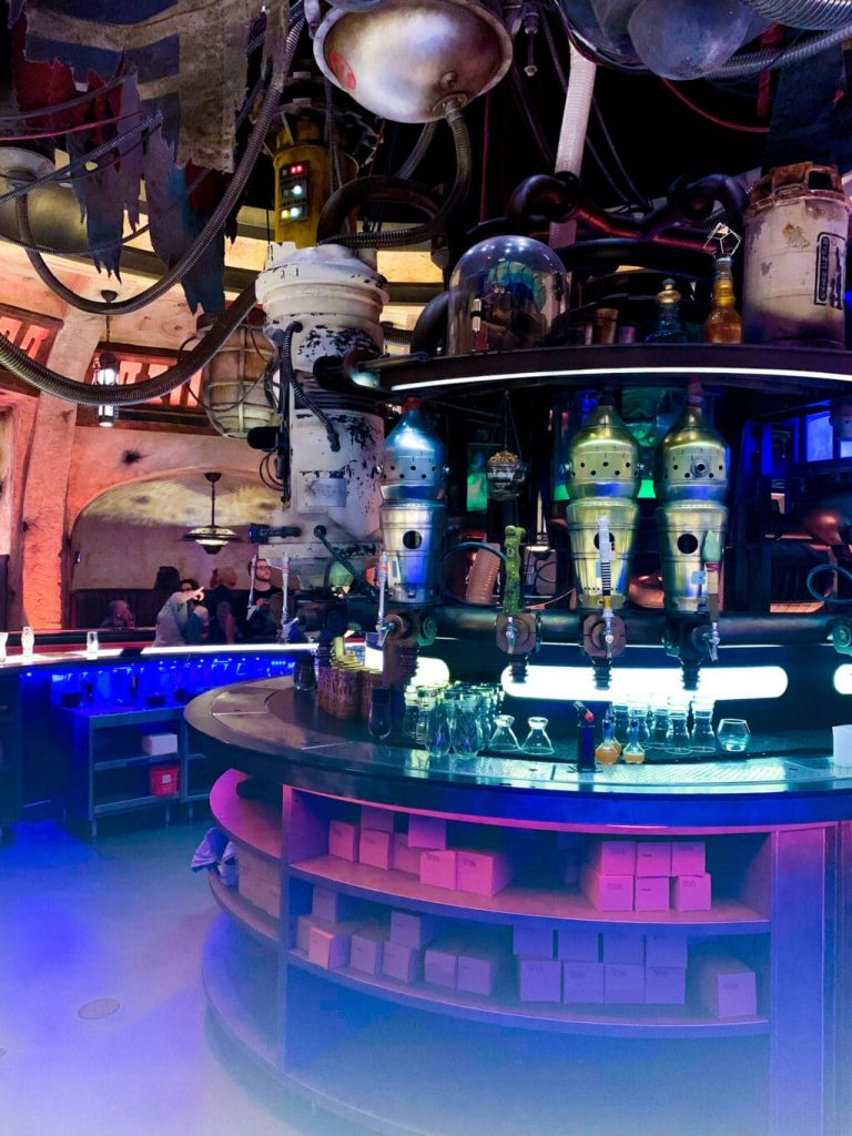 What's inside Oga's Cantina