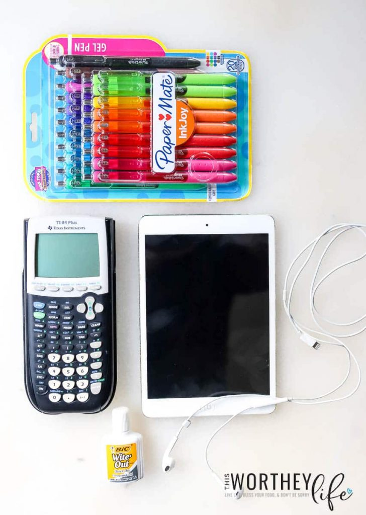 Back To School Checklist For Teens