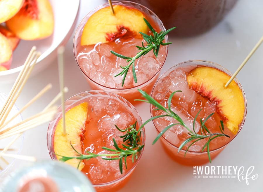 Non-Alcoholic Party Punch Idea Using Seedlip Grove