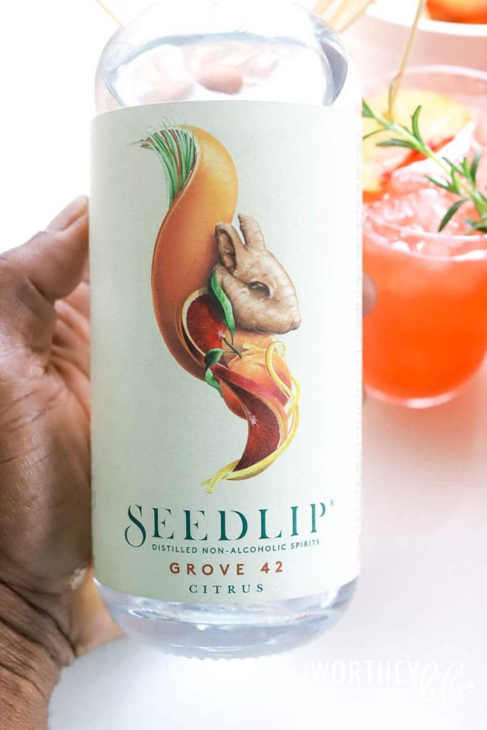 mocktail recipes using Seedlip grove 42