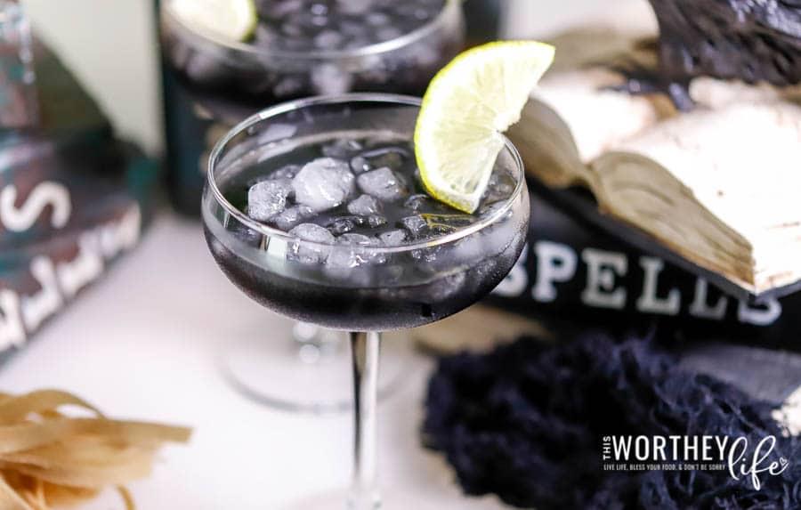 Black Voodoo Citrus Cocktail