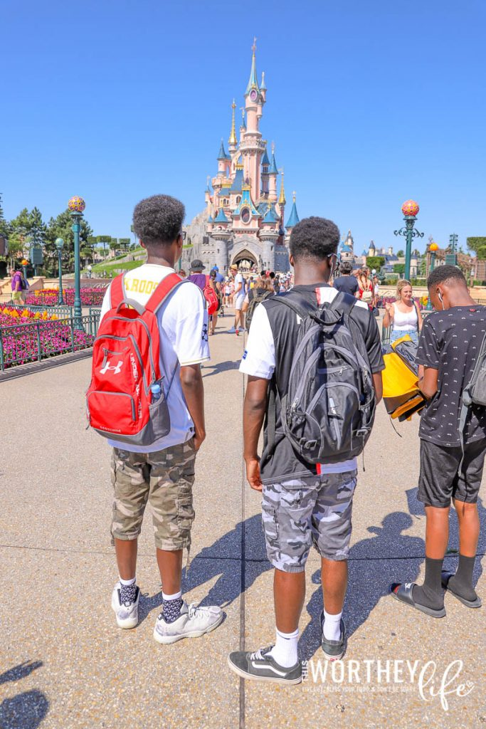 What to put in your backpack for Disney