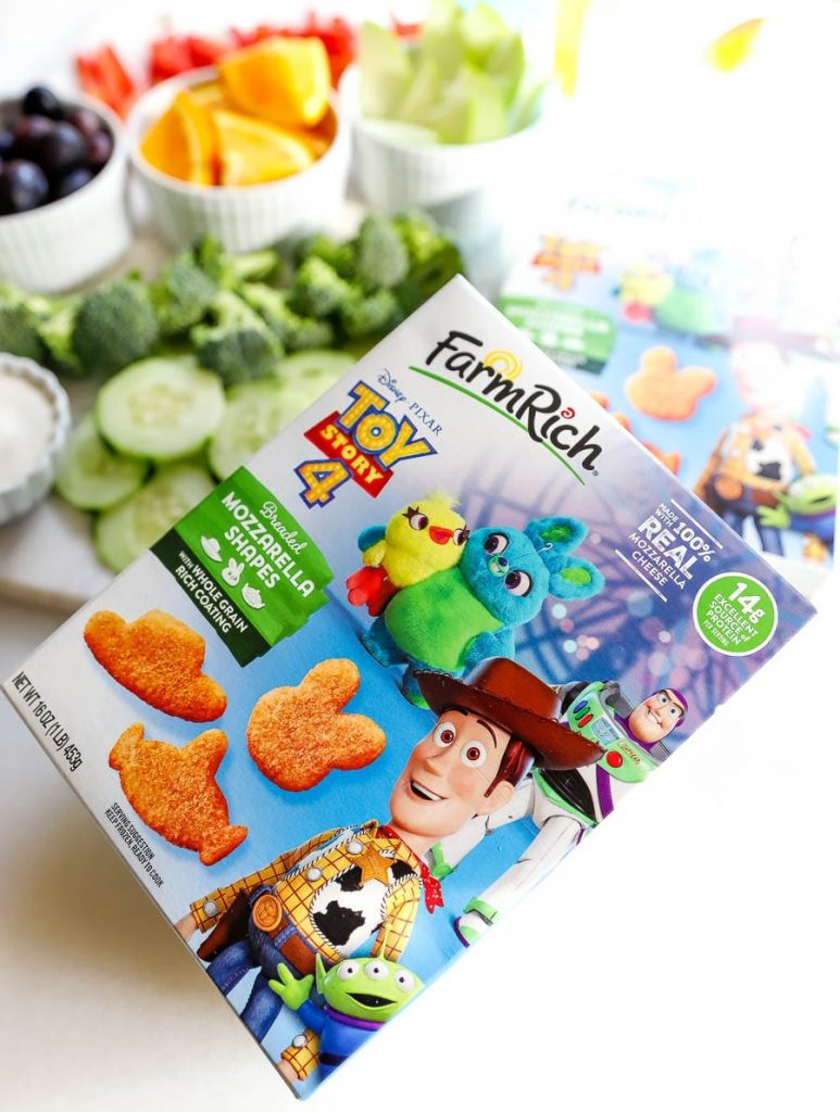 New Farm Rich Toy Story 4 snacks