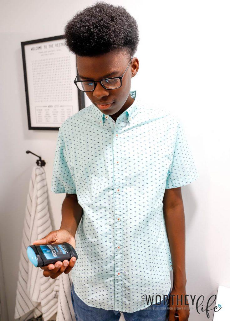 Hygiene tips for teen boys