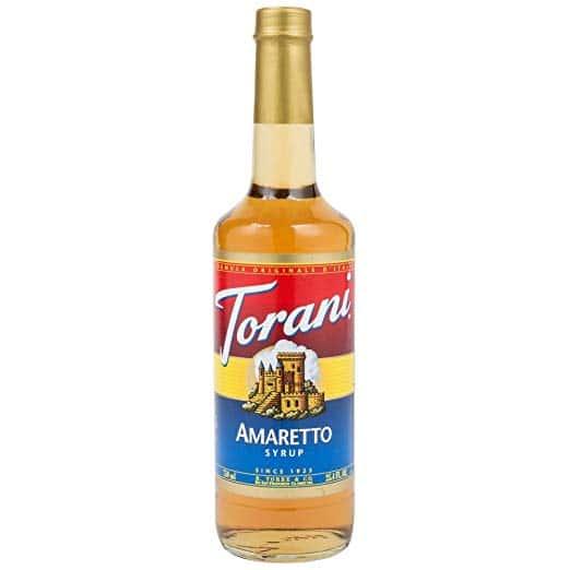 Torani Amaretto Syrup (1 Single 750 ml bottle), 25.4 oz
