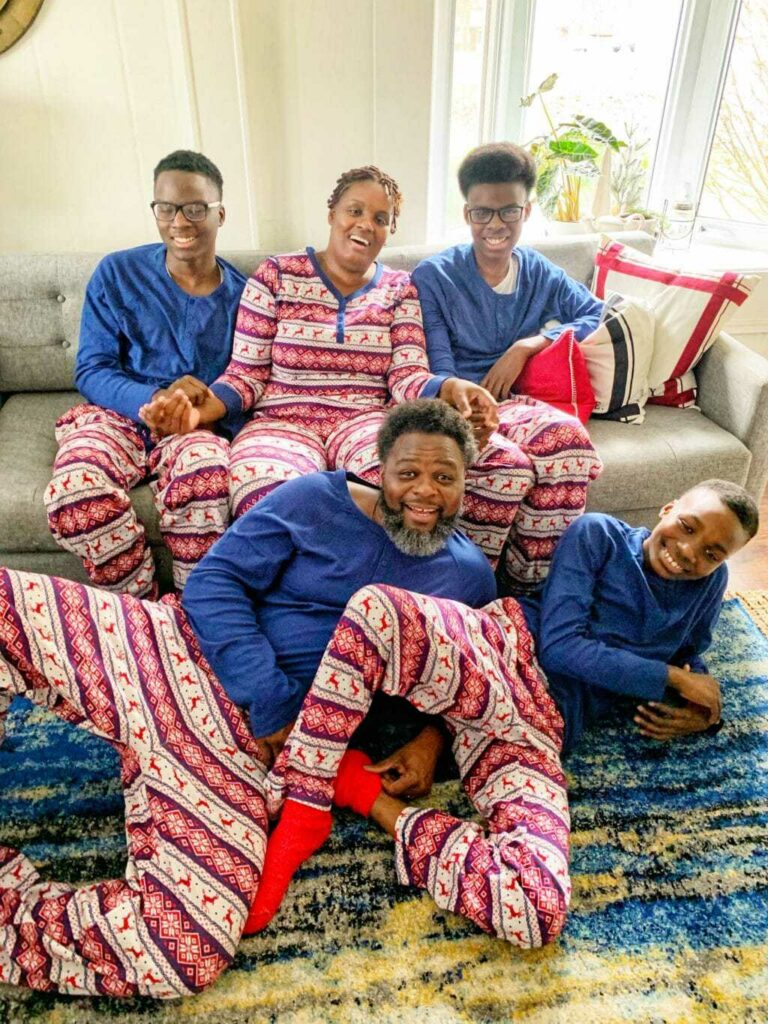 Matching Family Pajamas for Christmas