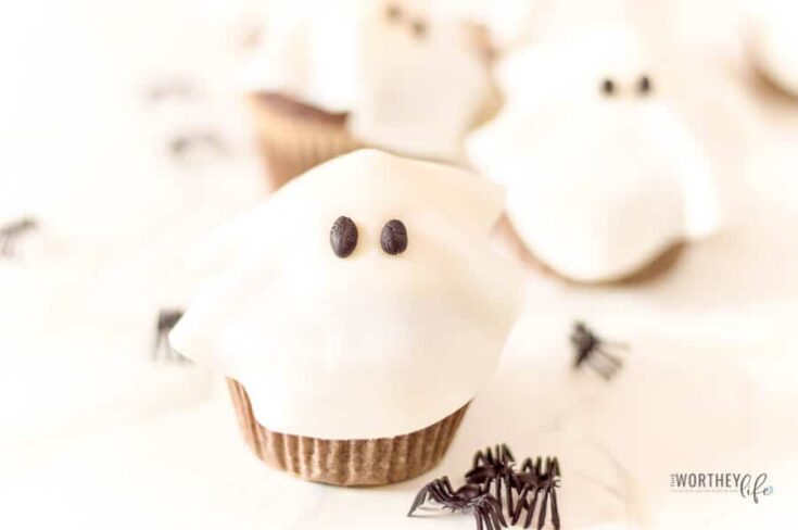 Halloween Cupcakes  | Ghost Cupcakes