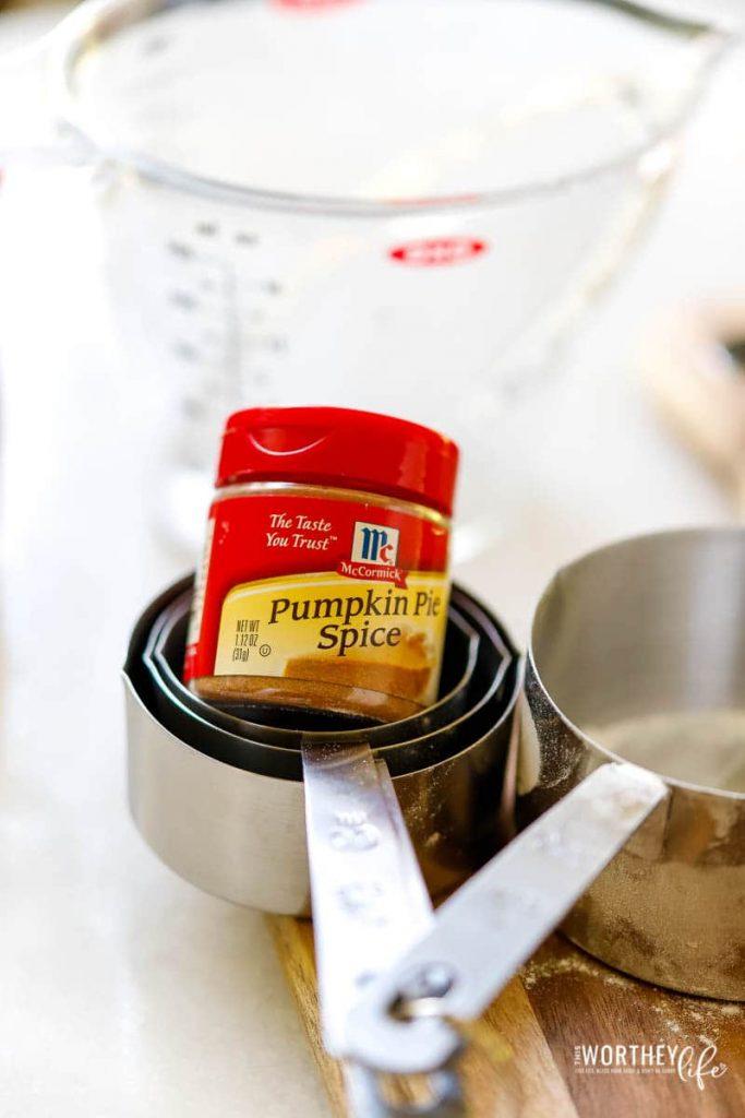 Coffee Break + Pumpkin Spice Beignets