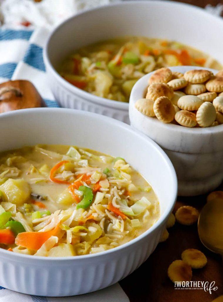 The top Italian soups