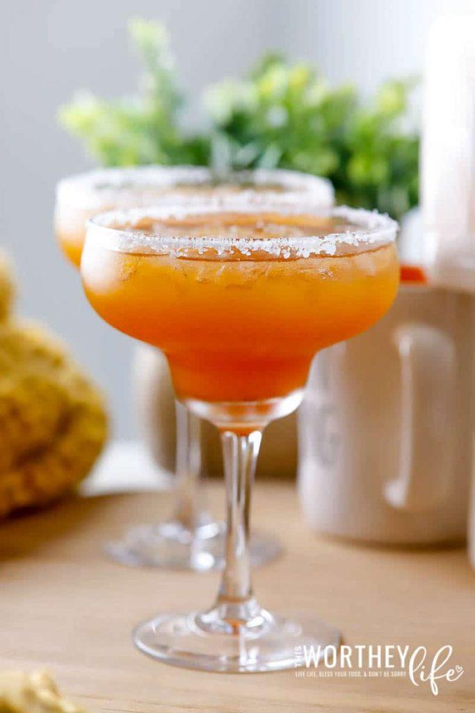 Pumpkin Spice Margarita