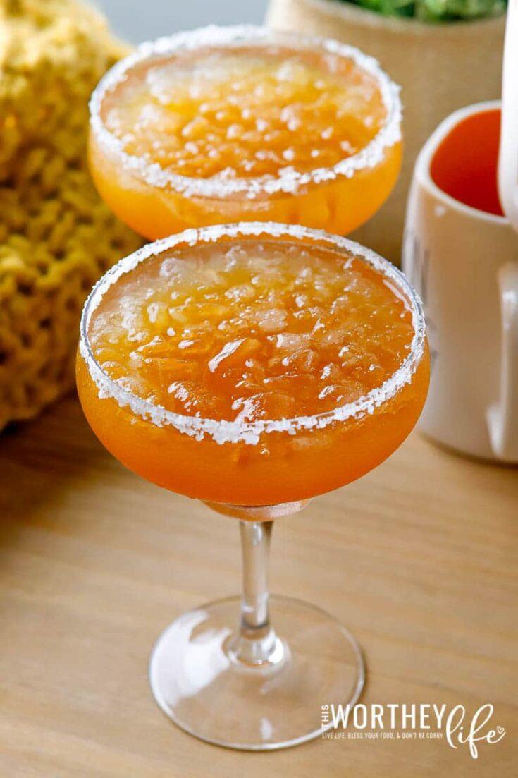 Fall Margarita Idea | Pumpkin Spice Margarita