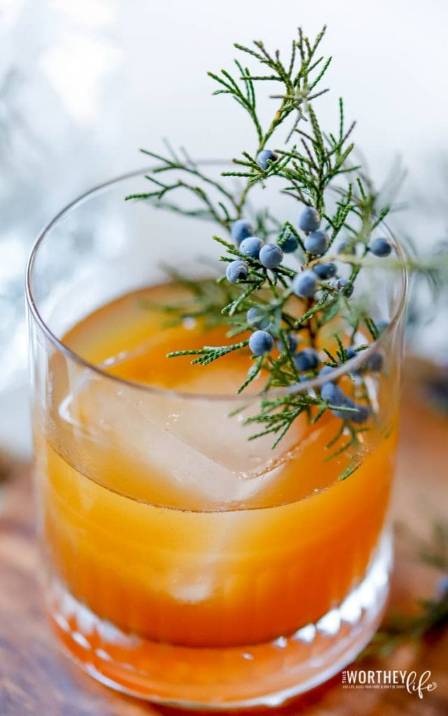 Easy drink ideas using gin and pumpkin spice